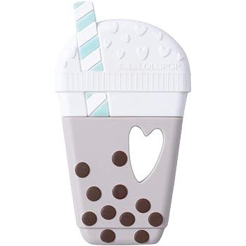 Loulou Lollipop(ルルロリポップ) シリコン歯がため【日本正規品】おしゃぶり おもちゃ ミルクティ LL-T-MILKTEA
