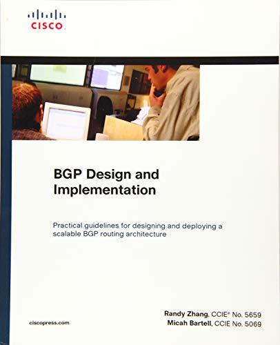 Download BGP Design and Implementation (paperback) (Fundamentals) 1587144700