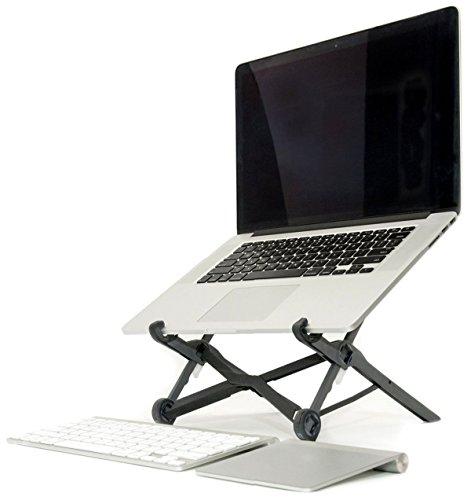 ノートパソコンスタンド ラップトップスタンド 折り畳み式 PCスタンド コンパクト 軽量 頑丈 持ち運び便利 8段階調整可能 肩こり 腰痛対策 収納便利 パソコンホルダー ノートPCスタンド
