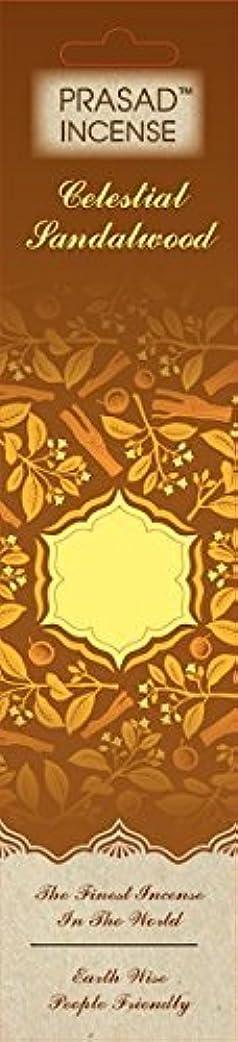 ロケット正統派結婚Prasad天体Incense sandalwood-caseの12