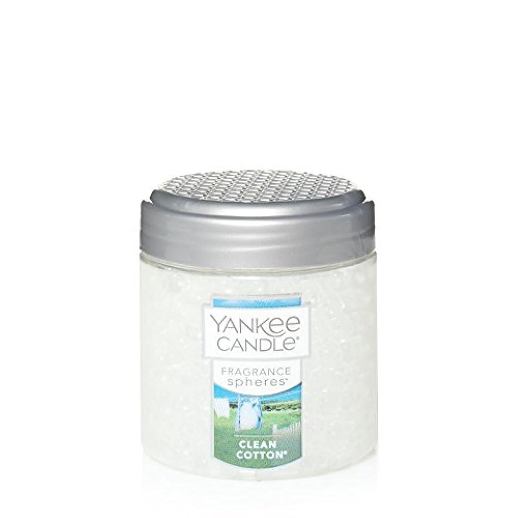 敬礼スロープ差し控えるYankee Candle Company Yankee Candle Fragrance Spheresクリーンコットン、使わない、クリア Fragrance SpheresTM 1547235