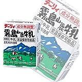 南日本酪農協同 デーリィ 霧島山麓牛乳200ml紙パック×24本入×(2ケース)