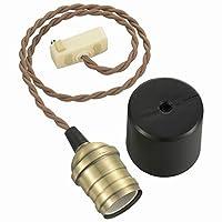 ペンダントソケットライト 真鍮TypeB [品番]06-3904 HS-LPS04