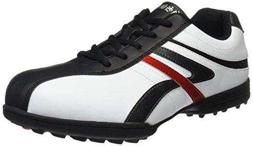 WOSS(ウォズ) スパイクレスゴルフシューズ WSK-1100  WSK-1100 ホワイト/ブラック 27.0cm