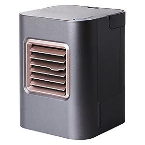 ミヨシ MCO USB冷風扇 ブラック USF-12/BK