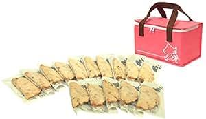 ≪公式≫【阪神名物いか焼き】冷凍いか焼きセット(15枚入り) ピンク
