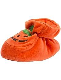 B Baosity 全3サイズ ユニセックス ベビー 幼児 シューズ ハロウィン カボチャ 靴 コスチューム