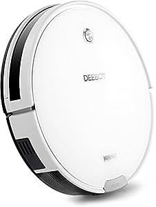 ECOVACS 床用ロボット掃除機 DEEBOT 静音&強力吸引 水拭き対応 クリアホワイト DM82 【日本国内正規品】