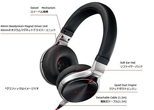 KENWOOD HEADPHONE ハイレゾ音源対応 KH-KZ1000