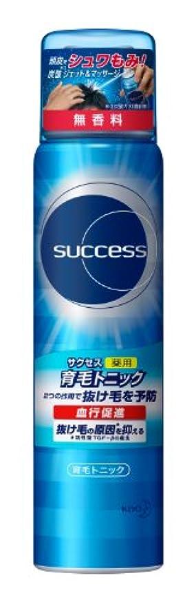 強化アイスクリーム含意サクセス薬用育毛トニック 無香料 小/73g