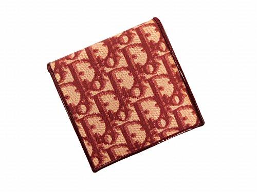 [クリスチャン・ディオール] Christian Dior 二つ折り財布 トロッター キャンバス×レザー X10535 中古