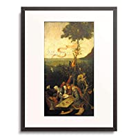 ヒエロニムス・ボス Hieronymus Bosch 「The Ship of Fools.」 額装アート作品