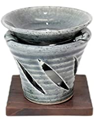 香炉 京織部 茶香炉 [R9.5xH9.7cm] HANDMADE プレゼント ギフト 和食器 かわいい インテリア