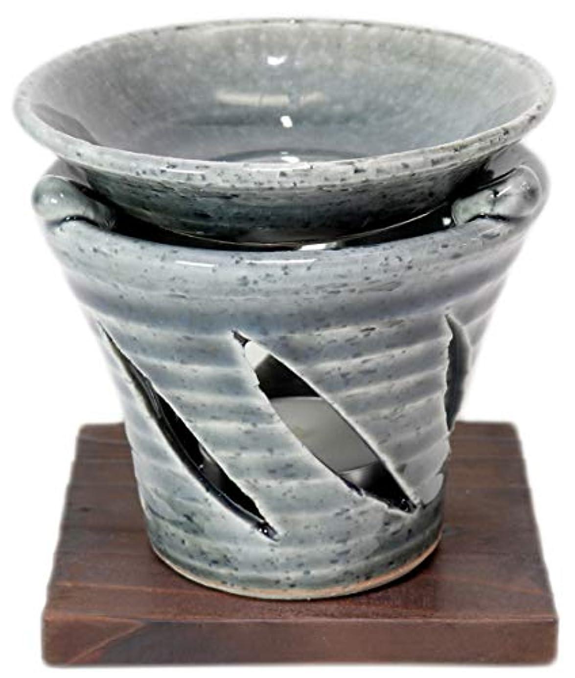 風卑しい凝視香炉 京織部 茶香炉 [R9.5xH9.7cm] HANDMADE プレゼント ギフト 和食器 かわいい インテリア