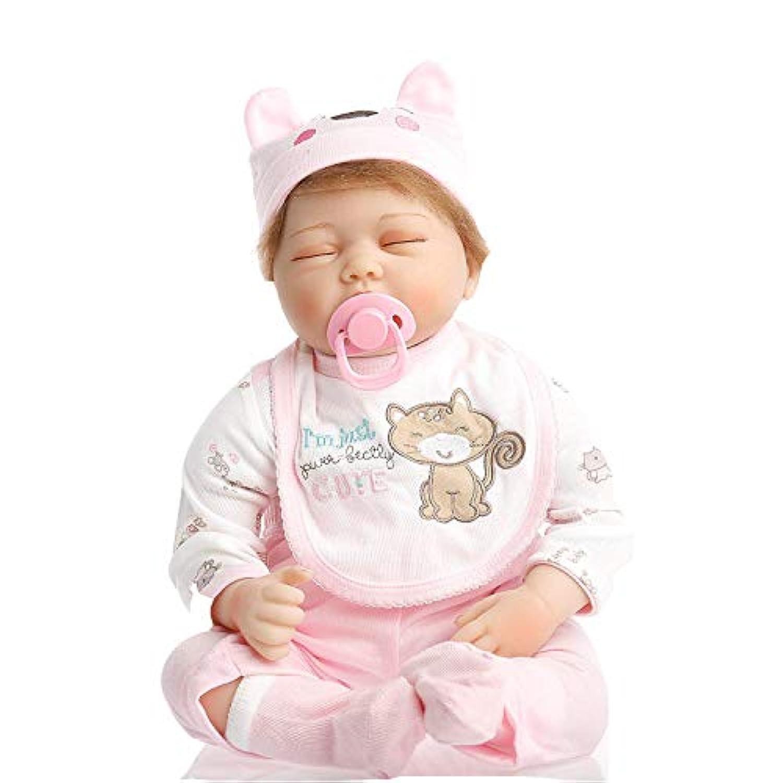 SanyDoll Rebornベビー人形ソフトSilicone 22インチ55 cm磁気Lovely Lifelike Cute Lovely Sleep Baby