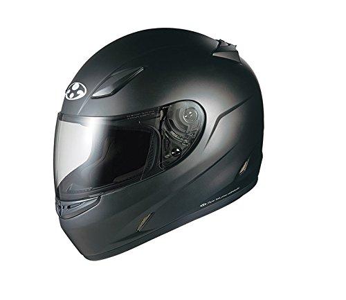 オージーケーカブト(OGK KABUTO)バイクヘルメット フルフェイス FF-R3 フラットブラック M (頭囲 57cm~58cm)