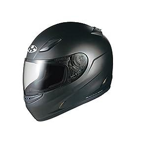 オージーケーカブト(OGK KABUTO) バイクヘルメット フルフェイス FF-R3 フラットブラック M (頭囲 57cm~58cm)