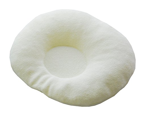 サンデシカ 頭の形をよくする枕(ソフトチューブ ベビー枕) クリーム 2610-9999-03
