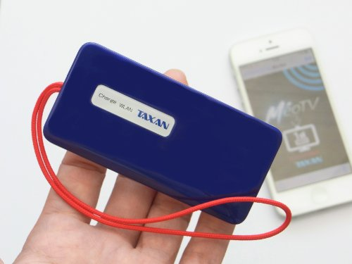 iPhone/Android/Kindle Fire/Windows PC対応 ワイヤレスワンセグチューナー TAXAN Meo Tune