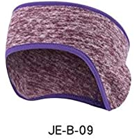 c92849b97d5 Outdoor Sports Fleece Hair Ear Band Windproof Warm Head Polar Fleece  Earband Ear Muffs Stretch Spandex