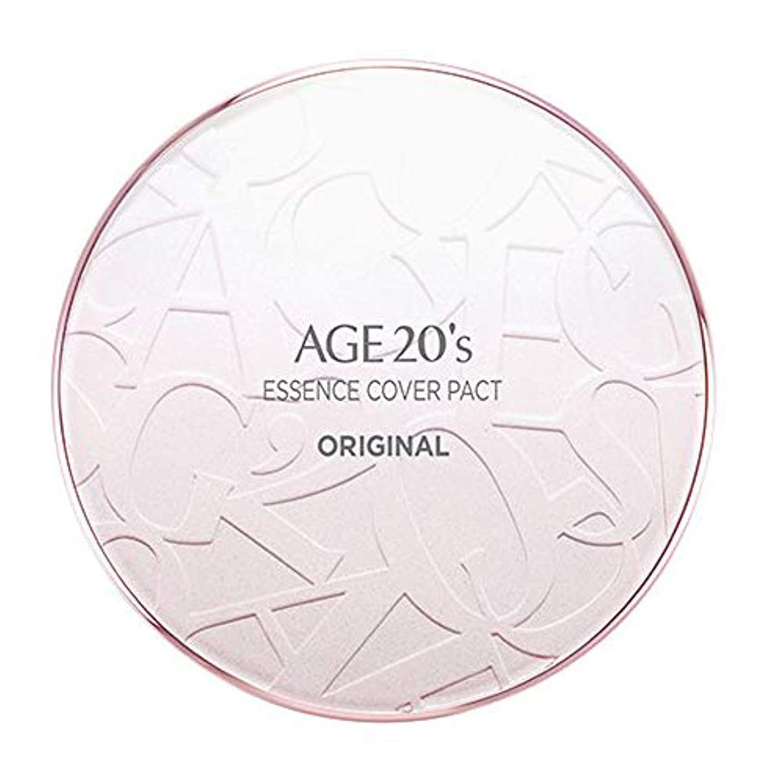 成功したカジュアル甲虫AGE 20's(エイジ20's) エッセンスカバーパクトオリジナル(本品1個+リフィル2個付)ケースカラーピンク (21号)