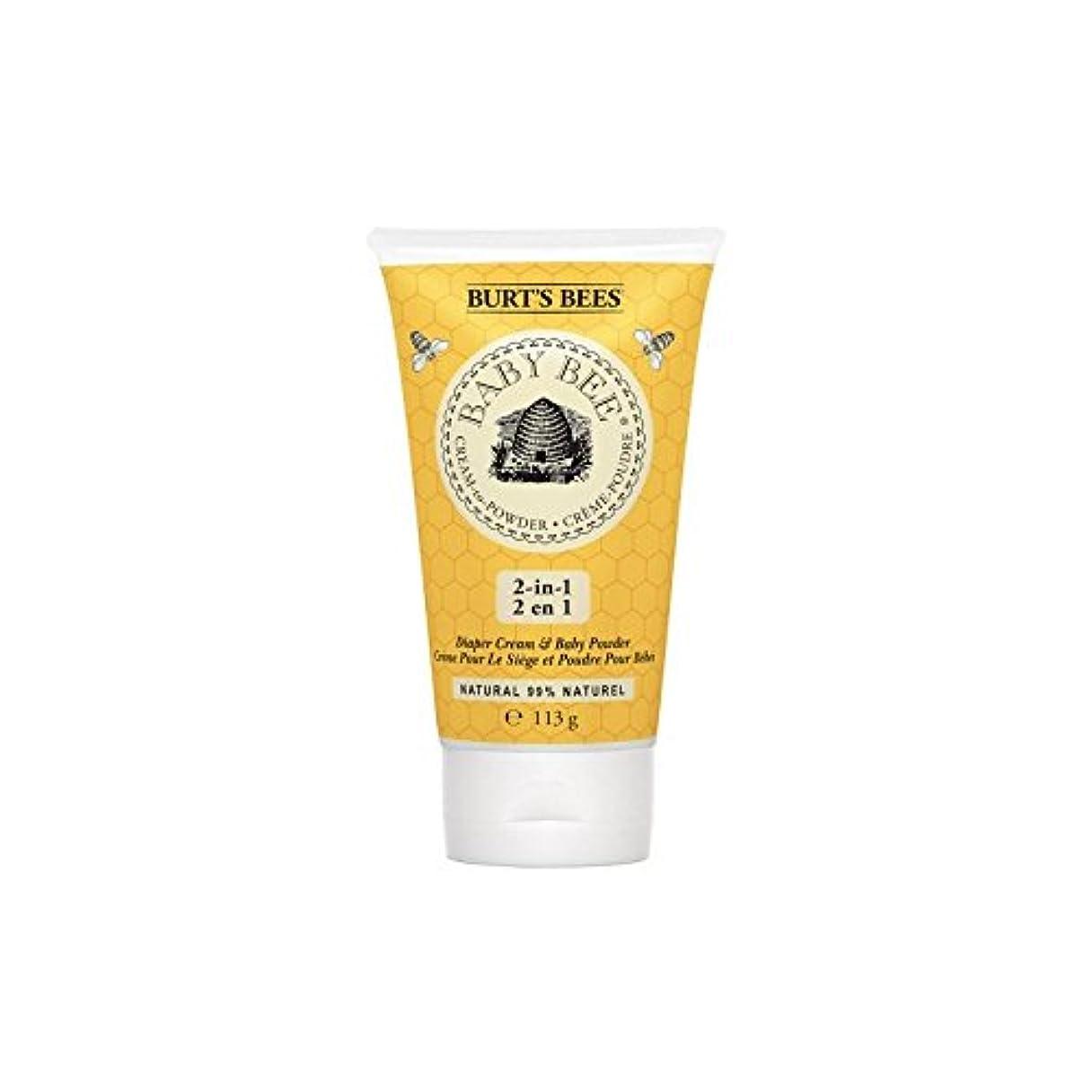 剃るモーターカビ粉末にバーツビークリーム x4 - Burt's Bees Cream to Powder (Pack of 4) [並行輸入品]