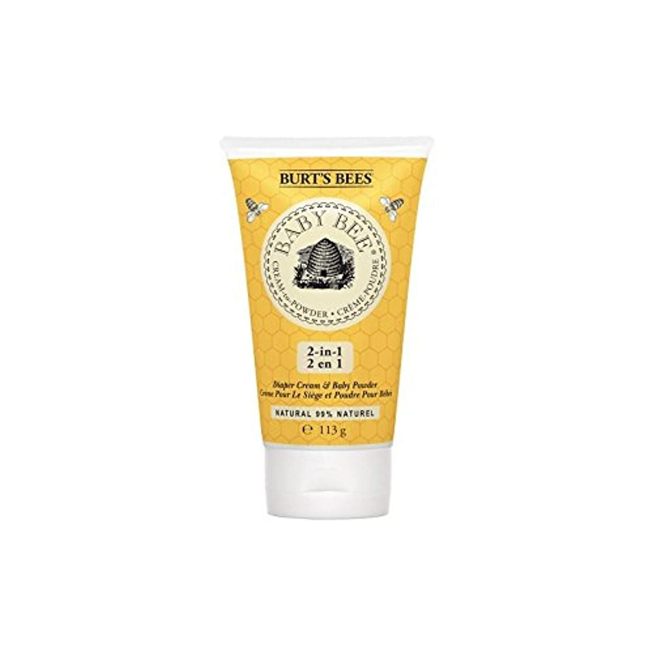 模索こねる公粉末にバーツビークリーム x4 - Burt's Bees Cream to Powder (Pack of 4) [並行輸入品]
