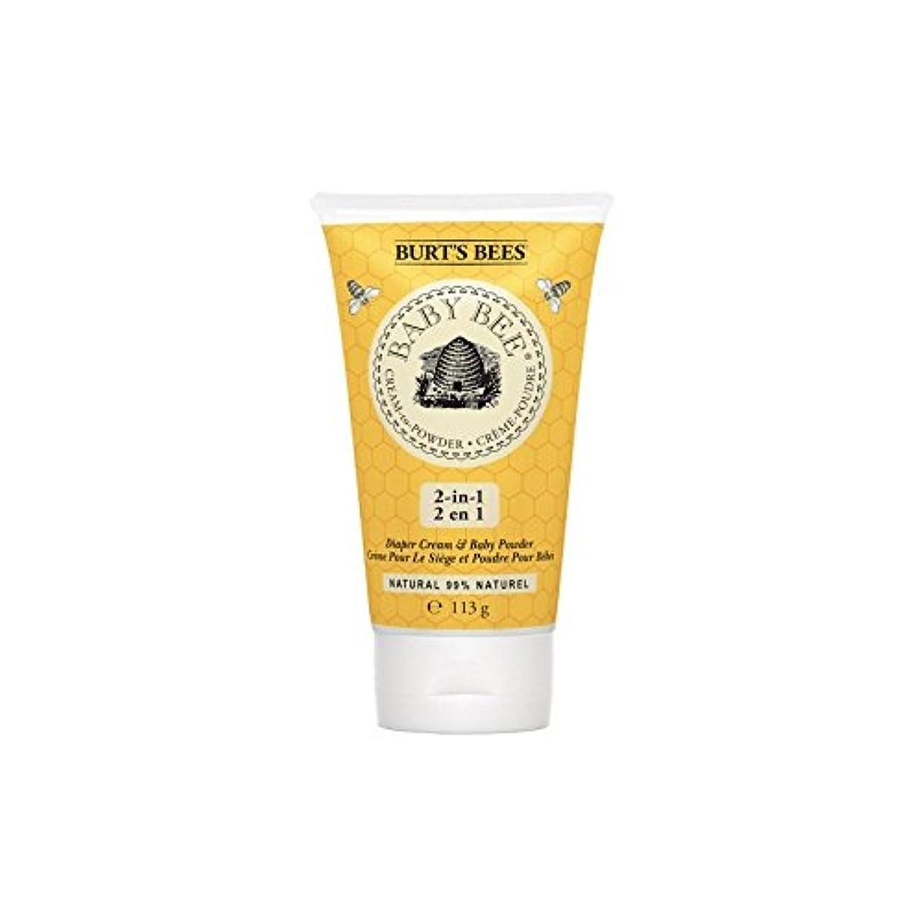 官僚大事にする五月粉末にバーツビークリーム x2 - Burt's Bees Cream to Powder (Pack of 2) [並行輸入品]