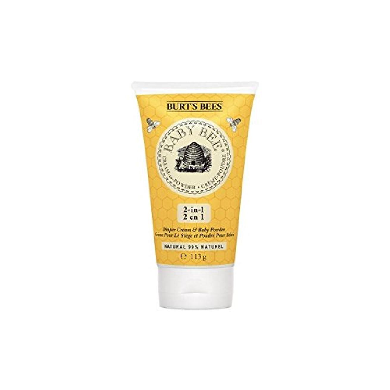 脇に観察する行く粉末にバーツビークリーム x4 - Burt's Bees Cream to Powder (Pack of 4) [並行輸入品]