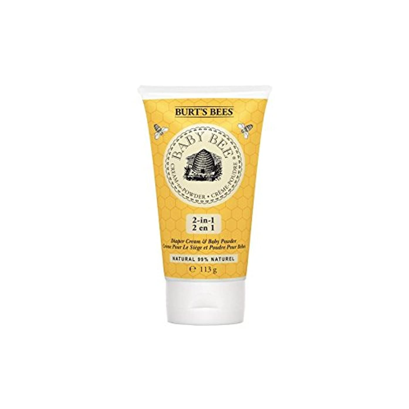 必須怠決定的粉末にバーツビークリーム x2 - Burt's Bees Cream to Powder (Pack of 2) [並行輸入品]