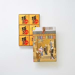 お菓子の香梅 誉の陣太鼓 6個入 【のしなし】 スイーツ 480g