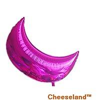 31.4インチMylar Balloon & # xff0 C ;ピンクMoon Forパーティー& # xff0 C、ベビーシャワーまたはホーム装飾ベビールーム装飾ウェディング