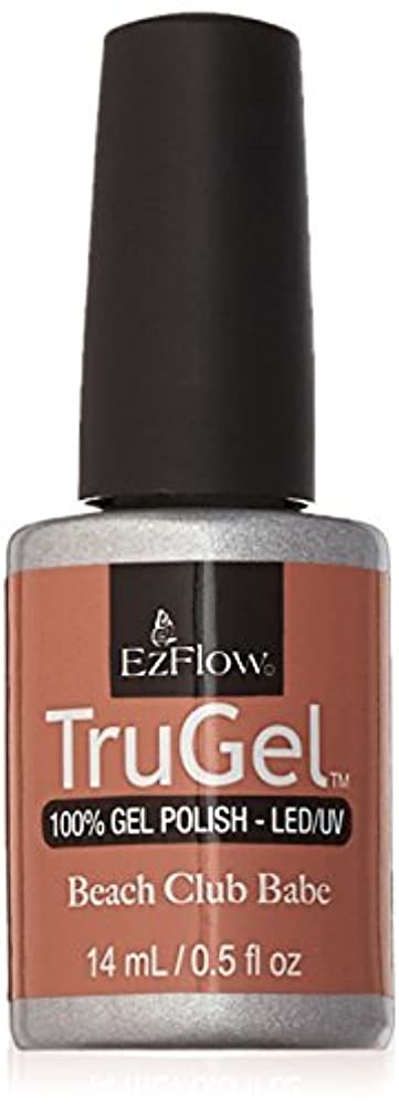 スクレーパー条件付き内向きEzFlow TruGel Gel Polish - Satin Prom Dress - 0.5oz / 14ml