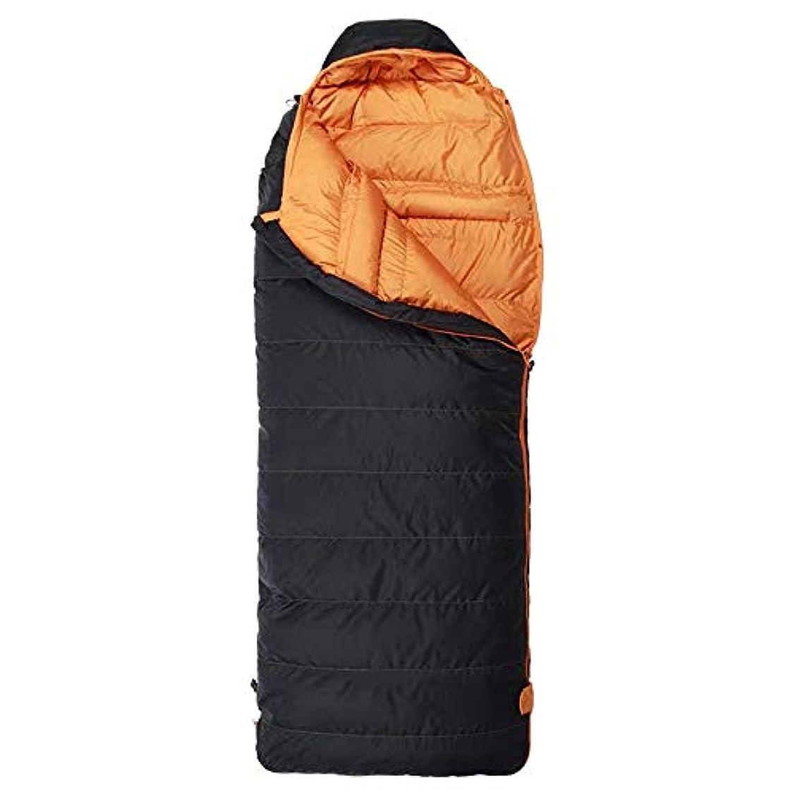 石化するについて服を片付ける寝袋、大人の屋外旅行シングル肥厚屋内分離冬キャンプ寝袋