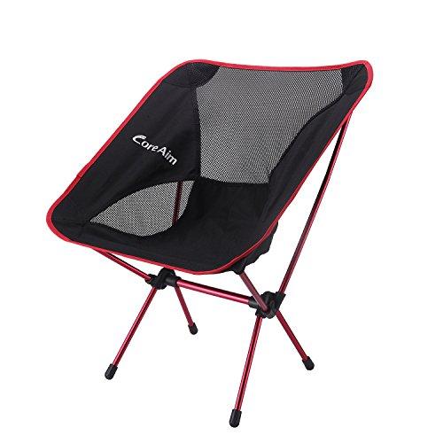 アウトドアチェア CORE AIM 折りたたみ 椅子 イス 収納バッグ付き 超軽量 コンパクト 耐荷重150kg 7075アルミニウム合金