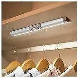 【2本セット】クローゼットセンサーライト ledライト USB充電式 マグネット付き 貼り付け型 目にやさしいセンサーライト 自動点灯 消灯