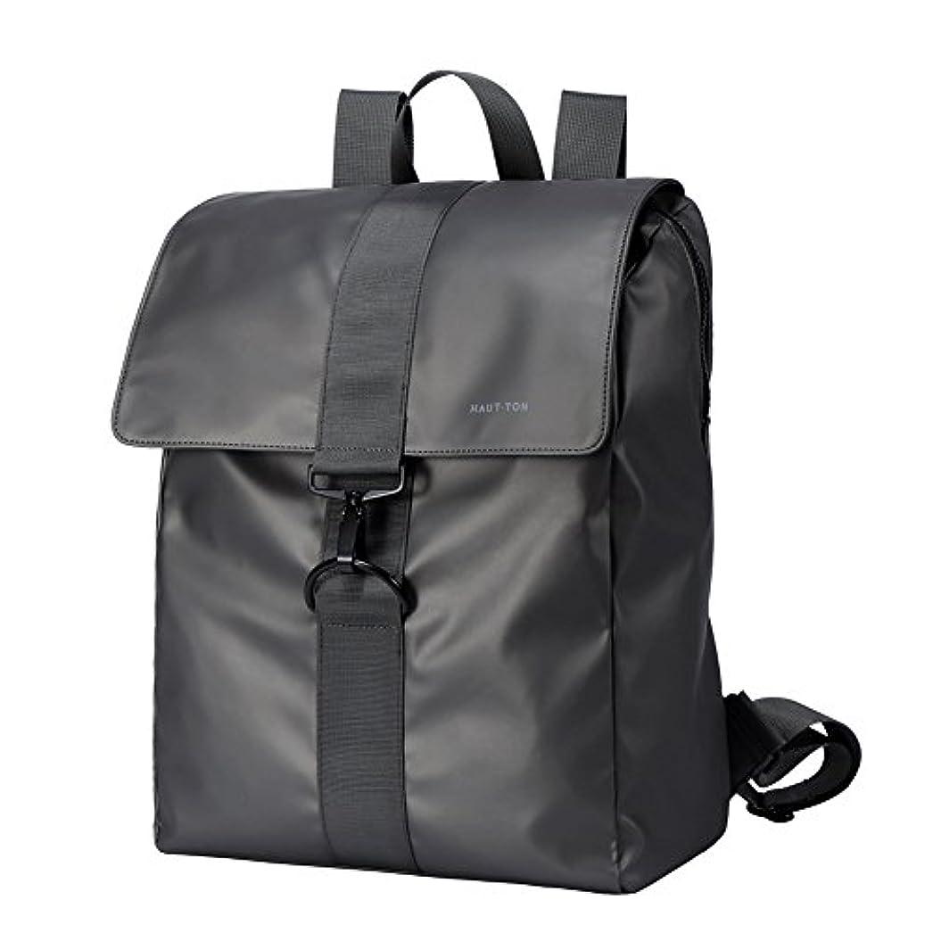 餌空気きらめくHAUTTON リュック メンズ バックパック おしゃれ 防水 人気 大容量 通学 通勤 ビジネスバッグ A4 14pc