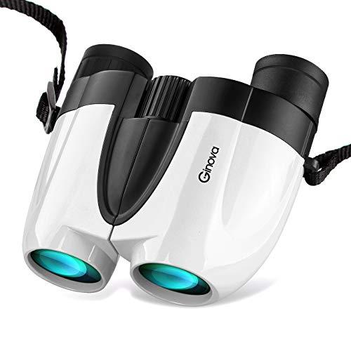 Ginova 双眼鏡 高倍率 10×25 超軽量 IPX5防水 最先端FMC多層膜コート