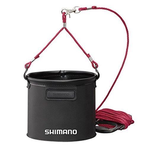 シマノ 水汲みバッカン BK-053Q ブラック 19cm
