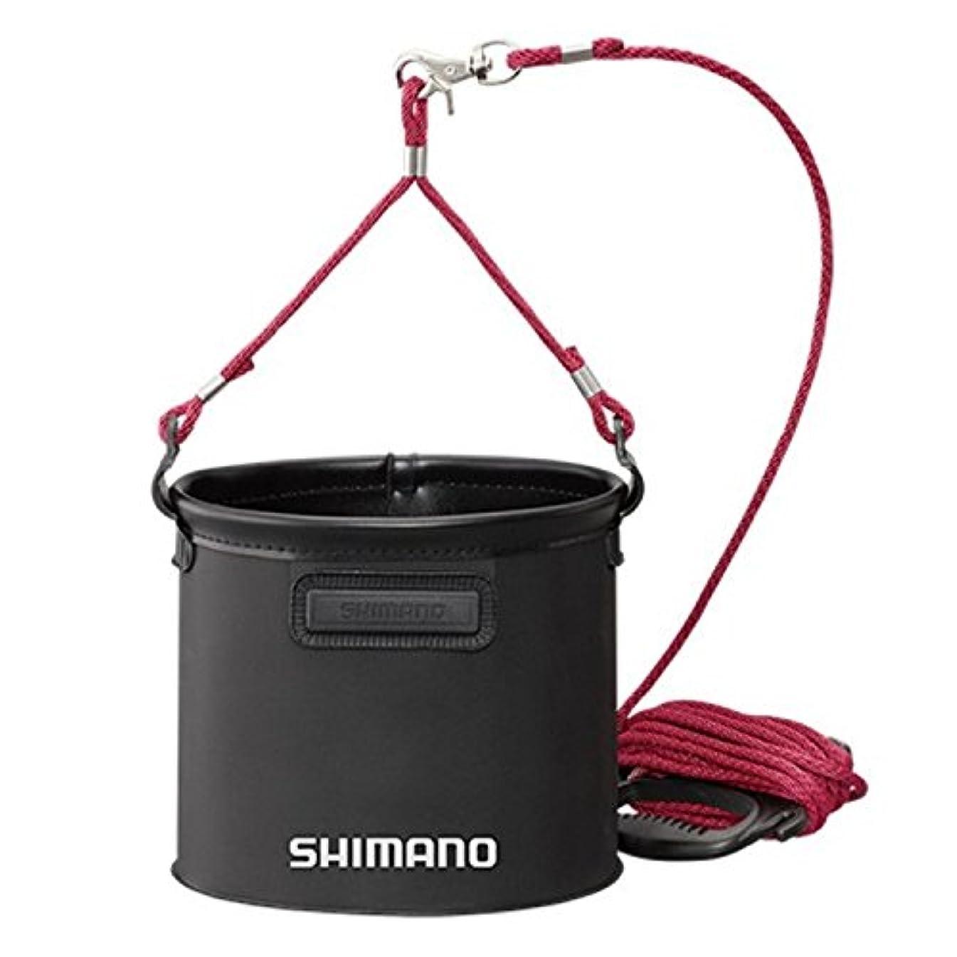 アナニバー基準調べるシマノ 水汲みバッカン BK-053Q ブラック 17cm