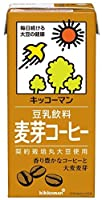 キッコーマン飲料 豆乳飲料 麦芽コーヒー 紙パック 1000ml×6本入