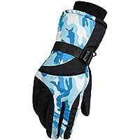 冬用防風防水スキーグローブスキー用品スポーツ用グローブ、C