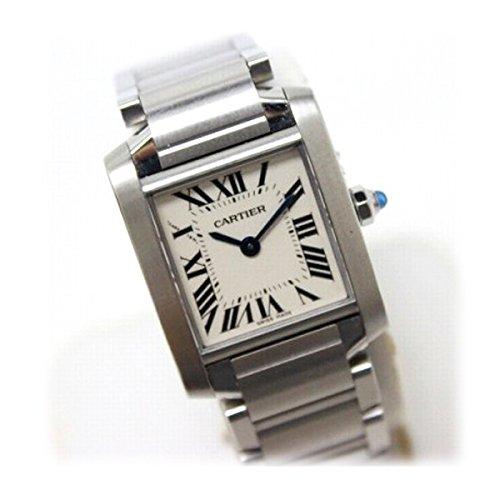 [カルティエ]Cartier タンクフランセーズSM レディース腕時計 SS クオーツ W51008Q3 [中古]