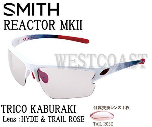 SMITH(スミス) REACTOR MK2 TRICO KABURAKI 【レンズ】HYDE&TRAIL ROSE 209000011サングラス