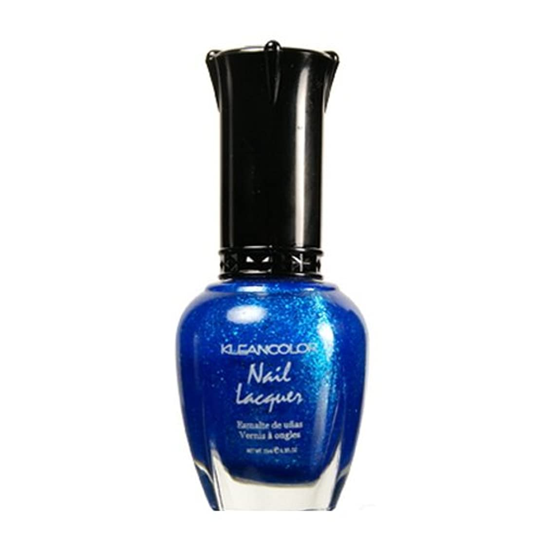 ぶどう太い高架(6 Pack) KLEANCOLOR Nail Lacquer 4 - Shining Sea (並行輸入品)