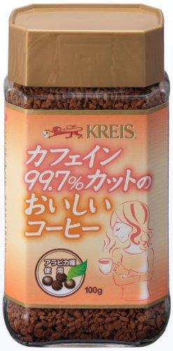 クライス カフェインカットのおいしいコーヒー 100g