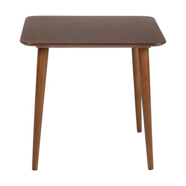 不二貿易 ダイニングテーブル エクレア 幅75×...の商品画像