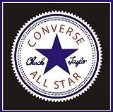 コンバース オールスター RT861 Converse All Star Chuck Taylors Vinyl Decal | Yeti Cup Truck Car Jeep Window Locker Laptop Ipad | 4 [並行輸入品]