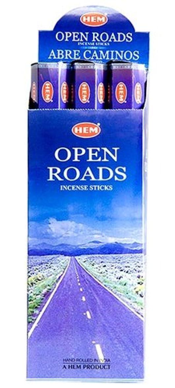 うめき声膿瘍矢じりHEM(ヘム)社 オープンロード香 スティック OPEN ROADS 6箱セット