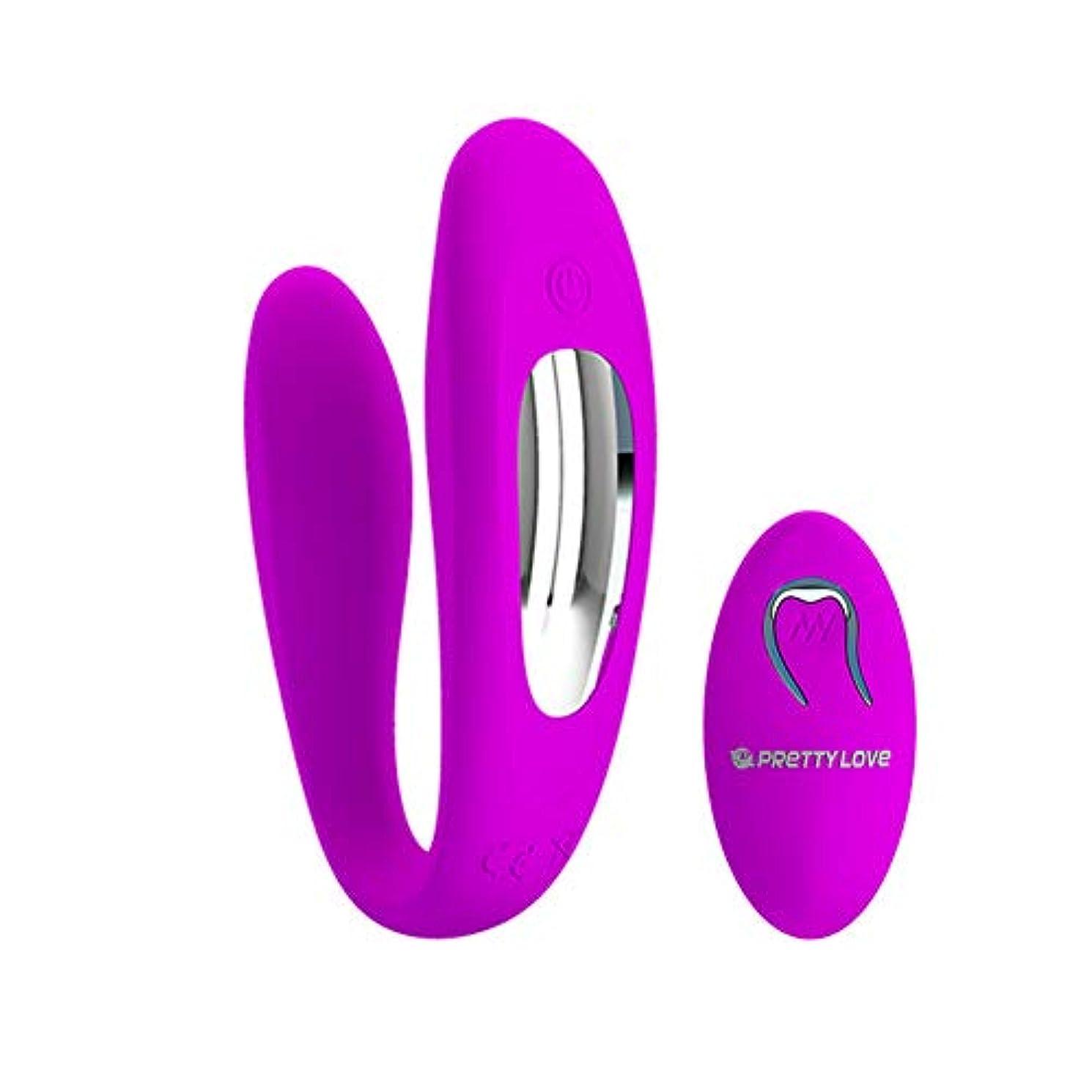 動詞バブルベアリング電気シリコーンのおもちゃ、カップルはマッサージスティックを共有し、Usb防水ミュート12バンドデュアルモーターリモートコードレスマッサージ、カップル減圧贈り物